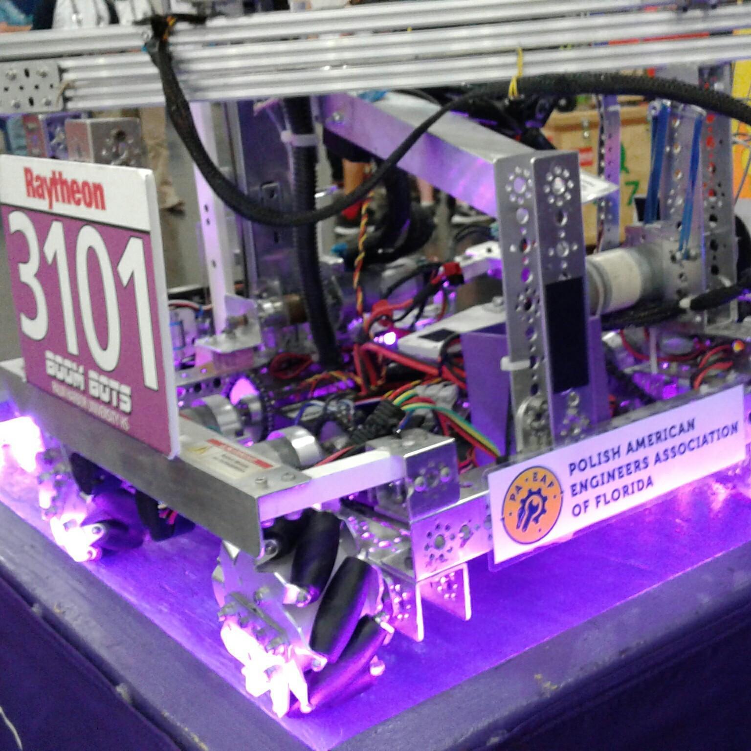 We Support Robotics World Class High School Teams